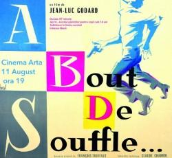 À bout de souffle, un film cult la Cinema Arta