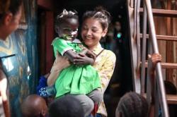 Andreea, arădeanca care vrea să construiască o şcoală în Kenya [EXCLUSIV]
