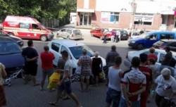 A lovit o femeie pe trotuar ! Șoferul era băut și nu avea permis de conducere !