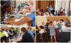 """""""Golănisme ieftine"""" în şedinţa CLM ! Consilierii locali şi deputaţii PSD au transformat şedinţa Consiliului Local într-o mahala urât mirositoare"""
