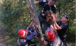 Turiști blocați în telecabina Cetății Deva ! Printre ei se aflau și 2 copii