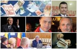 PSD a îndatorat țara cu 10 miliarde de euro în 7 luni. România se împrumută cu 553 de euro pe secundă!