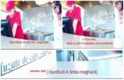 VIDEO SCANDALOS! O angajată Kaufland din Odorheiul Secuiesc refuză să servească clienţii care vorbesc în limba Română!