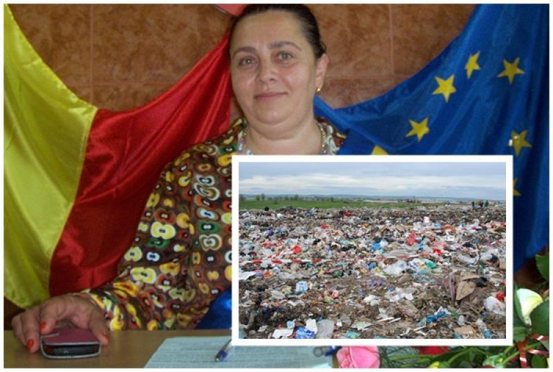Vărădia de Mureş, îngropată în gunoaie după ce primărița Crina Miculiț a desființat sistemul de colectare la nivel local!