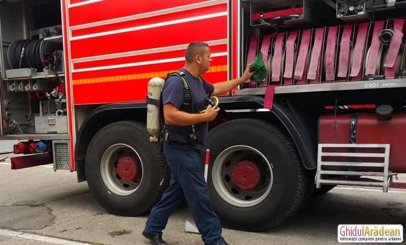 PORȚI DESCHISE la Inspectoratul pentru Situații de Urgență Arad !