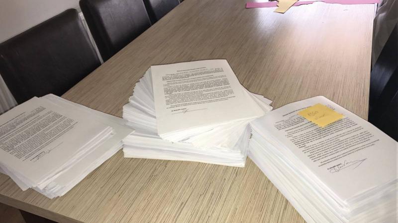 La Arad, Coaliţia Pentru Familie a strâns semnături pentru senatori
