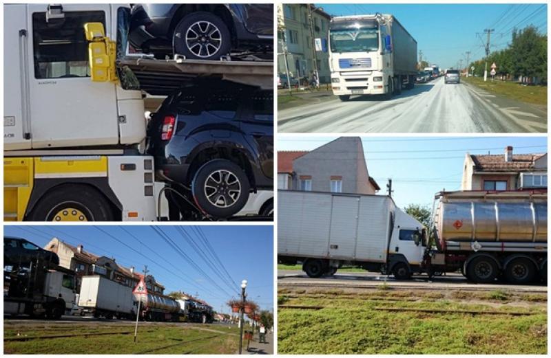 Accident în lanţ petrecut în localitatea Vladimirescu!