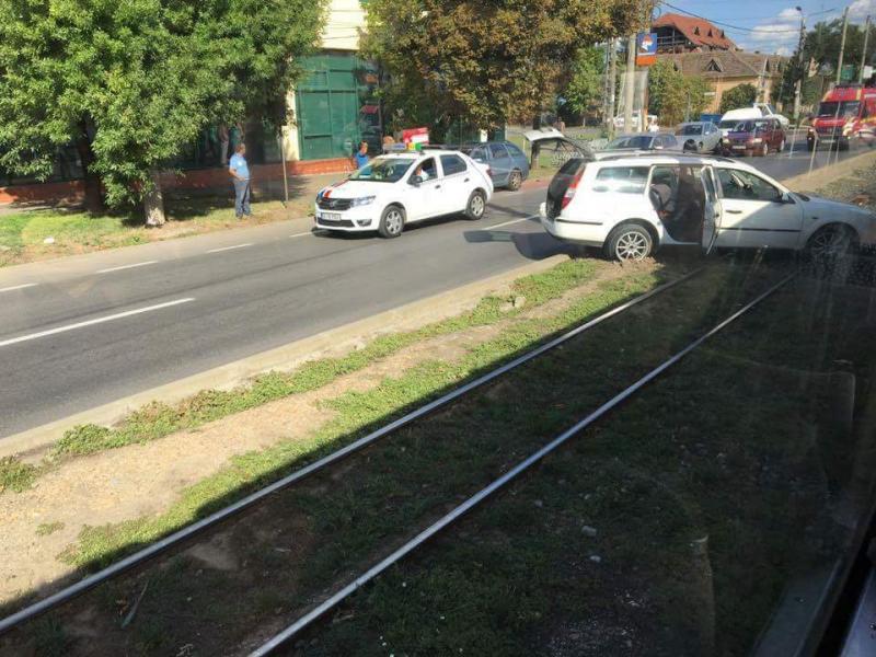Accident de circulație pe Calea Radnei