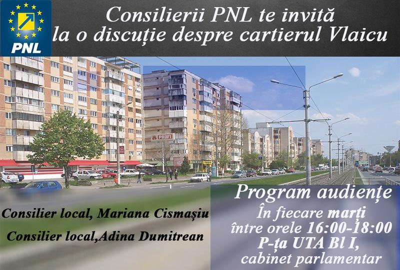 Consilierii PNL Adina Dumitrean și Mariana Cismașiu invită în fiecare marți arădenii în audiență