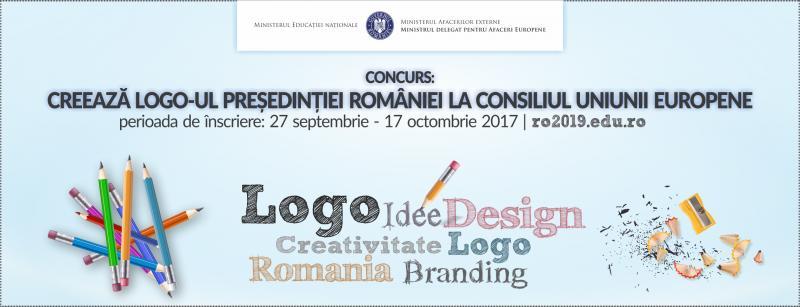 A fost lansat concursul de creaţie a LOGO-ului preşedinţiei României la Consiliul UE