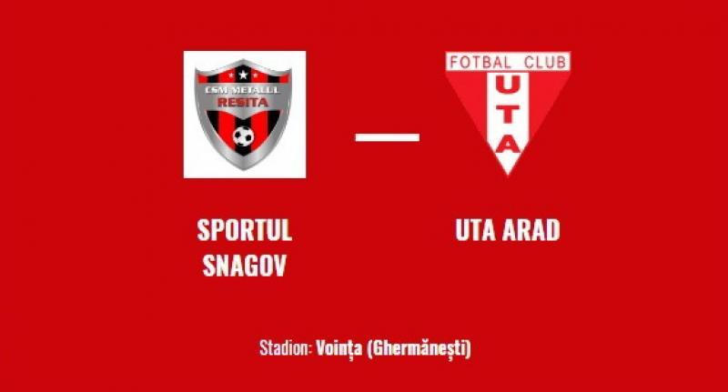 """UTA nu reuşeşte să """"se lipească"""" de o victorie, dar obţine un punct în deplasare: Sportul Snagov – UTA: 0-0"""