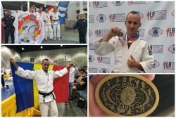 FOTO- Polițist arădean, medaliat cu bronz la Jocurile Mondiale ale Polițiștilor