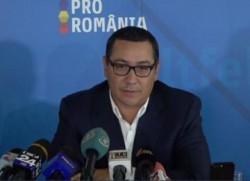Victor Ponta îşi face PARTID! S-a lansat proiectul politic PRO ROMÂNIA!