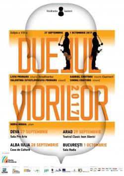 Viorile Stradivarius și Guarneri vor răsuna la Arad într-un spectacol de excepţie!
