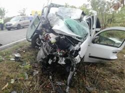 Grav accident de circulaţie pe DN69, între Arad şi Vinga!