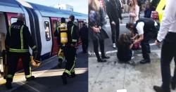 Panică într-o staţie de metrou din Londra! O găleată cu substanţe inflamabile a explodat rănind mai multe persoane!
