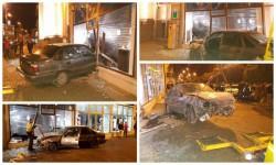 """O """"Bijuterie"""" de Cielo, accident în centrul Aradului"""