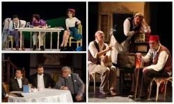 Porție triplă de comedie la Teatrul Clasic Ioan Slavici