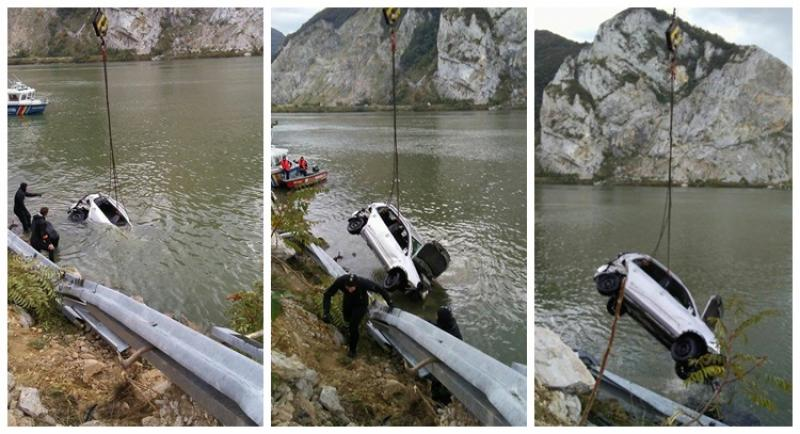 Scafandri Detașamentului de pompieri Arad chemaţi în ajutor în Caraş Severin