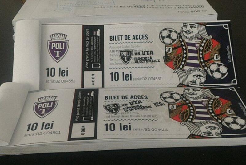 Biletele la Poli – UTA se pun în vânzare la Arad de miercuri