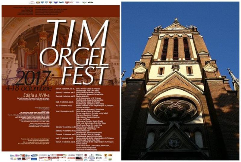 Biserica Roşie din Arad, gazda unui concert de Orgă în cadrul Festivalului Internaţional Timorglefest