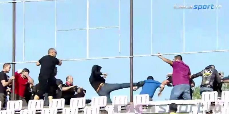 """Fotbalul nu contează, important este """"cină-l"""" nenoroceşte pe celălalt! Violenţe la meciul ASU Politehnică Timişoara – UTA Arad"""
