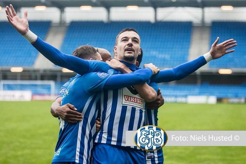 Adi Petre bifează dubla pentru Esbjerg