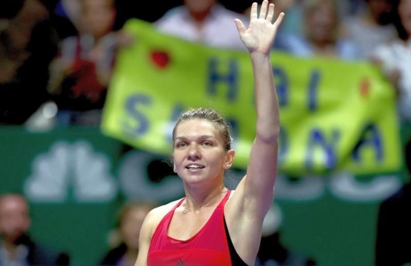 Simona Halep, victorie categorică la Turneul Campioanelor