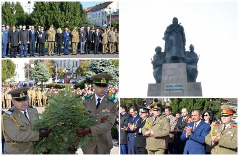 Ostaşii români, comemoraţi la Arad de Ziua Armatei Române