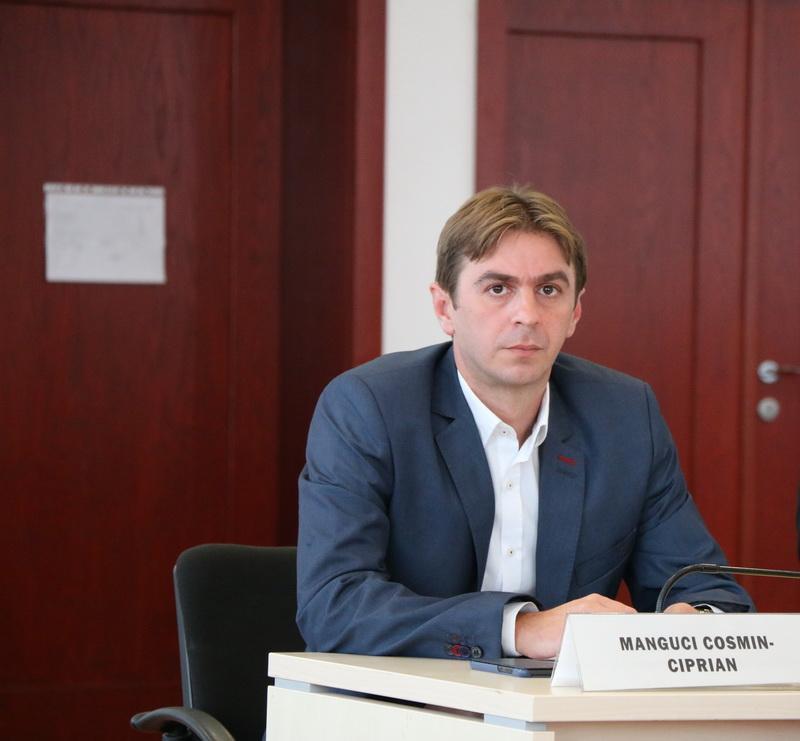 Ciprian Manguci validat în funcţia de consilier judeţean