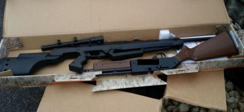 Arădean din localitatea Olari arestat pentru deţinere ilegală de arme