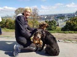 La pas din Olanda până în România, pentru animalele fără stăpân! Monique ajunge la Arad!