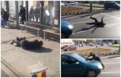 Nebun de legat, liber pe străzile Aradului!