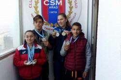 Performanţe europene de primă mână în acest an pentru CSM Arad