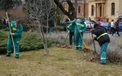 Octombrie- luna curățeniei de toamnă în Arad