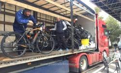 Un camion plin cu biciclete furate din Germania, depistat la vama Nădlac II