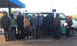 Doisprezece cetăţeni irakieni opriţi la frontieră cu Ungaria în zona Nădlac
