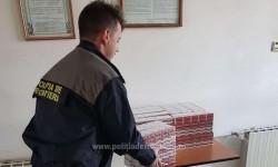 Ţigări de contrabandă în valoare de peste 6000 lei, descoperite la vama Turnu