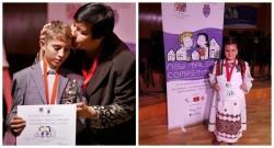 Doi copii talentaţi din Arad, premiaţi la Festivalul New Talent Competiţion Timişoara