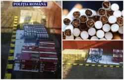 Captură impresionantă de ţigări de contrabandă în urma unor percheziţii efectuate în localităţile Almaş, Dieci şi Buteni!