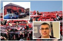 Întâlnire fără accesul presei între suporterii UTA-ei şi conducerea clubului! Află ce s-a discutat în spatele uşilor închise