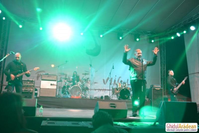 A doua zi a Festivalului Vinului la Arad: Proconsul, cap de afiş pe scena din parcul Eminescu