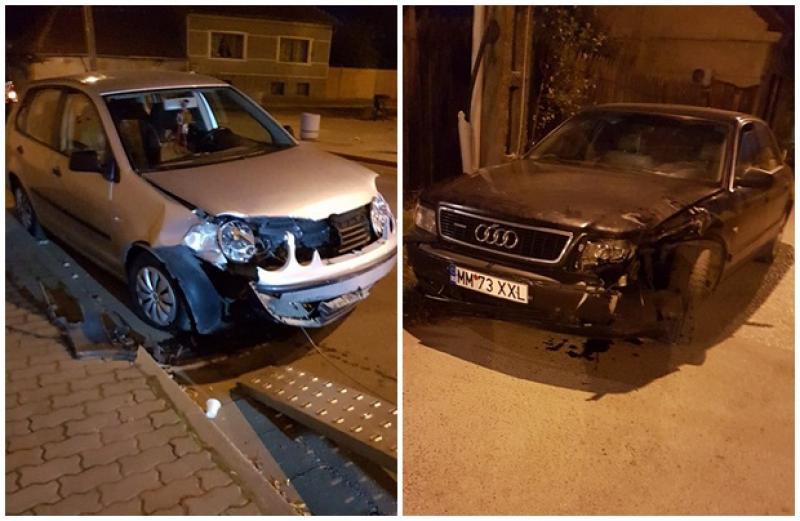Accident rutier în apropierea Pieţei Sârbeşti din municipiul Arad