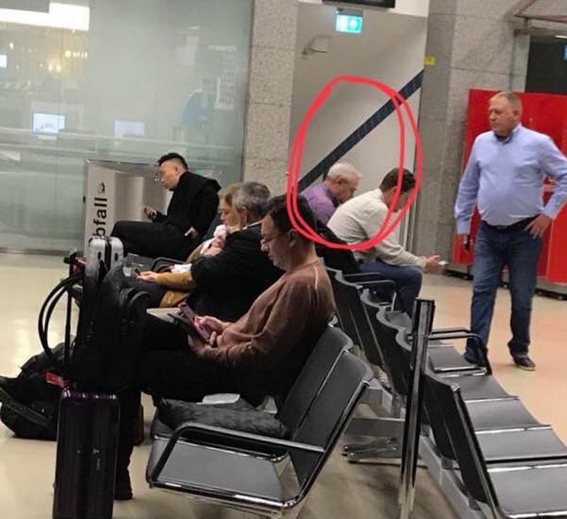 O să vă mănânce pușcăria! i-a zis o româncă lui Dragnea, pe aeroportul din Viena
