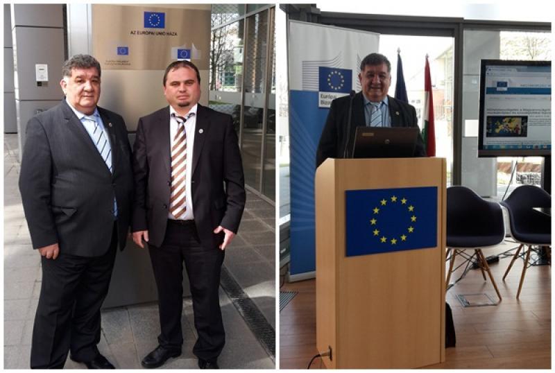 Filiala Judeţeană  a Confederaţiei Patronatul Român, prezentă la conferinţa Rocham de la Budapesta