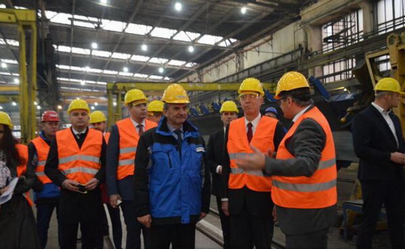 Ambasadorul SUA în România, Hans Klemm, în vizită oficială la Arad