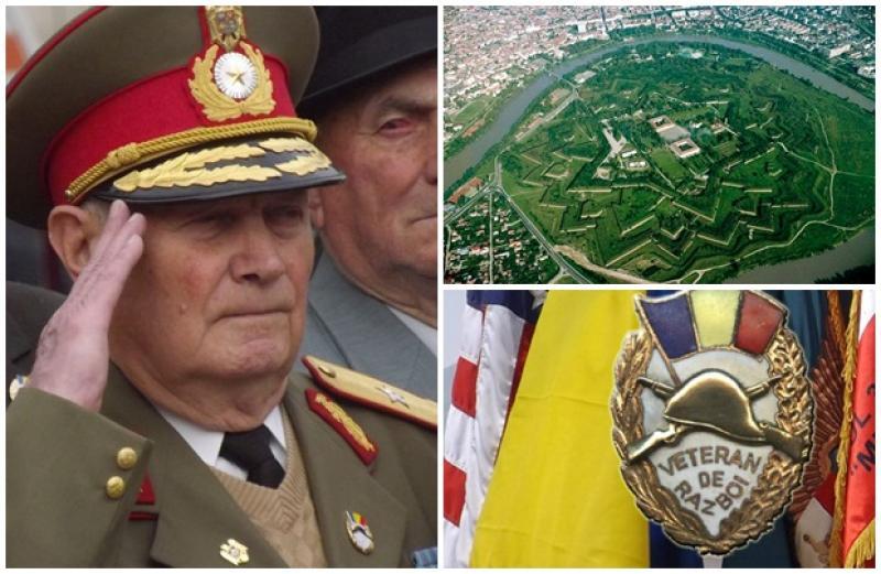 """11 Noiembrie- Ziua Veteranilor! Ceremonie  militară  la ,,Troiţa de comemorare a eroilor români"""", din Cetatea Aradului"""