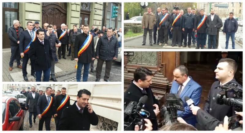 Revoluţia Fiscală scoate primarii arădeni în stradă! Revolta primarilor la Arad – se pierd zeci de milioane de Euro!