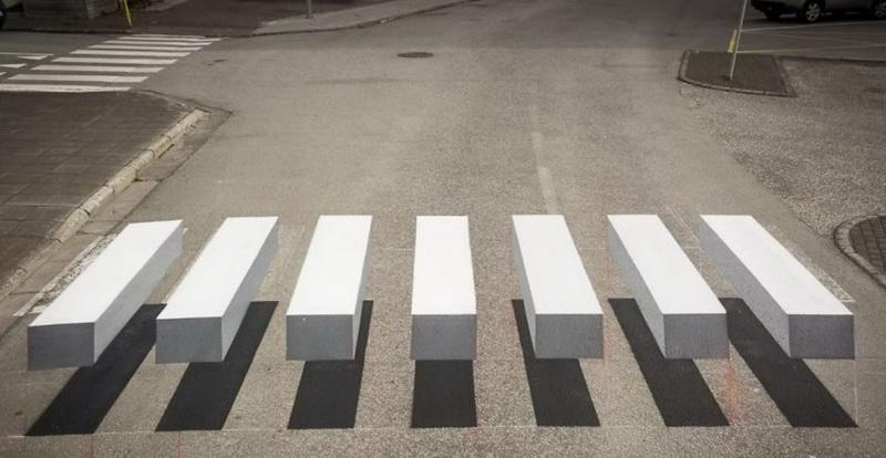 USR vrea să se adopte soluţia de la Buzău via Danemarca pentru trecerile de pietoni 3D