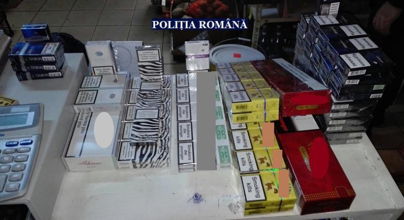 La Lipova, ţigările de contrabandă se vând în magazin